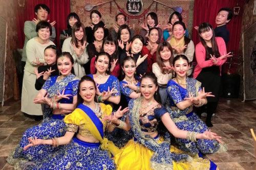 2020年1月11日大宮SHURU様にてボリウッドダンスチームがショーをいたしました。