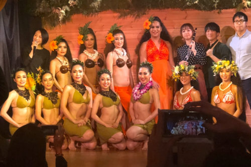 2019年11月29日タヒチアンナイト出演。ベリネシアンダンスチームが熱演。