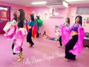 ベリーダンス教室・ベリーダンス基礎初級クラス