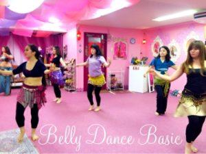 ベリーダンス教室・ベリーダンス基礎クラス