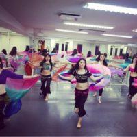 ベリーダンスのレッスンin麹町スタジオ