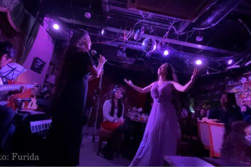 オリエンタルダンス、シルクロードカフェ4周年イベント