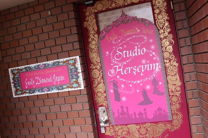 スタジオヘルシェイム入口ドア